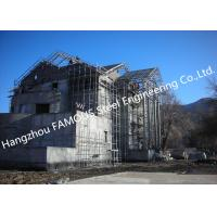 Quality Light Weight Steel Structure Villa House Pre Engineered Building Construction With Cladding Systems for sale