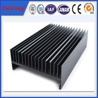 Quality extruded aluminium radiator supplier, aluminium anodizing profiles manufacturer for sale