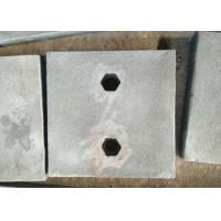 Quality Chrome-Moly Steel wear plates and maching parts are testings before delivery for sale