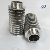 Quality Stainless steel wire wound filter/Johnson screen filter element for Filter industry for sale
