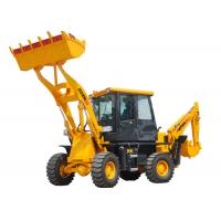 Quality 4*4 Small Wheel Loader / Track Backhoe Loader AZ22-10 With Yunnei Engine for sale