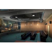 Quality 5D theater system , arc silver screen , perfect fusion effect for sale