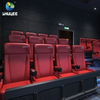 Quality 4D Home Theater System Cinema Equipment With Motion Chairs And Projectors for sale