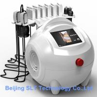 650nm Lipo Laser Slimming Machine , Cavitation Radio Frequency Fat Removal Beauty Machine for sale
