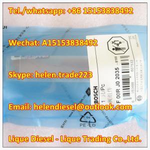 Quality Bosch original Valve Set F00RJ02035 , F 00R J02 035  Fit 0445120145,0445120215, 0445120261, 0445120264 Genuine and new for sale