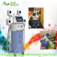 Buy Cryo slim freezer cryotherapy cool shape with 4 handles cryo fat freezing machine at wholesale prices
