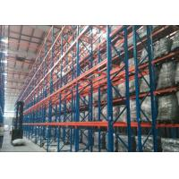 Quality Steel Q235B Heavy Duty Metal Shelving , Industrial Pallet Racks With CE Certificate for sale