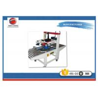 Quality Stainless Steel Shrink Wrap Packaging Machine / Folding Lid Sealing Machine High Stability for sale