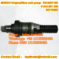 Quality Original Unit Pump 0414491109 /0 414 491 109 fit Deutz / KHD 02112405 / KHD 2112405 / PFM1P100S1009 for sale