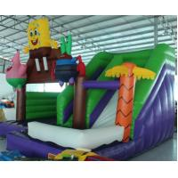 Buy 2016 hot sell Spongebob inflatable bounce house with 24months warranty GT-BC at wholesale prices