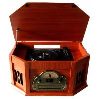 China 2015 Populat Vintage CD Turntable Cassette Player with AM FM Radio on sale