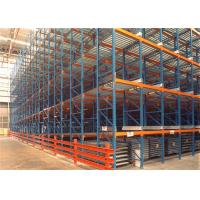 Quality Dynamic Storage Adjustable Heavy Duty Pallet Racks / Gravity Roller Racking Systems For Cartons for sale