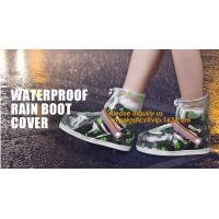 Quality PVC VAMP, PVC SOLE, PVC SHOES, PVC BOOTS,WATERPROOF RAIN BOOT COVER,reusable shoe rain cover ,waterproof safety rain boo for sale