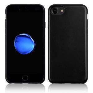 China Hybrid Rubberized Anti - Slip TPU Leather Phone Case Shockproof For IPhone 7 on sale