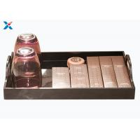 Quality Eco - Friendly Acrylic Display Case Hotel Washing Acrylic Serving Tray for sale