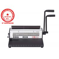 Buy A3 Paper Electronic Wire Binding Machines 130 Sheets Professional at wholesale prices