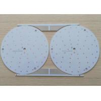 Quality 0.8mm Thickness Aluminium Led Light Circuit Board 1 Layer With Bulb Flying Prob Test for sale
