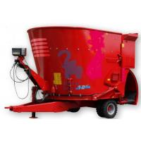 Quality Twin Augers Vertical Feed Mixer Wagons With High Loading Capacity for sale