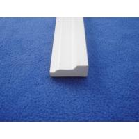 Quality Fadeproof Wood + PVC Extrusion Profiles Smooth Surface High Impact Resistant for sale