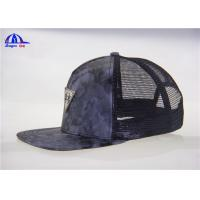 Quality 55% Cotton 45% Polyester Trucker Mesh Caps for sale
