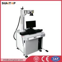 Quality Bath room and kitchen products fiber laser marking machine with laser power 20W for sale
