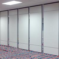Quality Hotel Operable Soundproof PVC Partition Wall Flexible Aluminium Frame for sale
