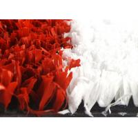 Buy High Density 10mm Synthetic Cricket Pitch Turf Red And White With Soft Touching at wholesale prices