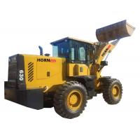 Quality 3 Ton Wheel  Loader Construction Equipment , Compact Tractor Front End Loader for sale
