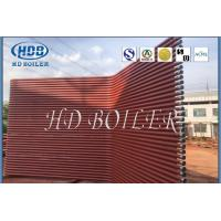 Quality Painted Seamless Waterwall Panel Heat Exchanger Boiler Spare Parts High Efficient for sale