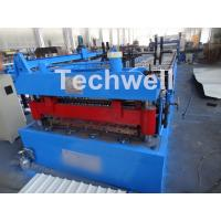 Quality Welded Wall Plate Forming Structure Roof Roll Forming Machine 0-15m / Min Forming Speed for sale