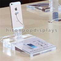 China Mobile Shop Clear Acrylic Display Rack Countertop For Smartphones Advertising on sale