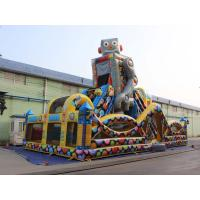 Buy Robot Outdoor Inflatable Playground For kids at wholesale prices