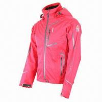 Quality Women's jacket, waterproof, breathable, 3-layer softshell fabric, fully seams taped for sale