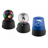 Quality Set Of 3 Mini LED Light Party Light One Mirror Disco Ball Beacon for sale