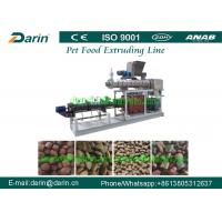 Automatic Food Extruder Machine High - Tech 150kg/hour For Dry Pet Food