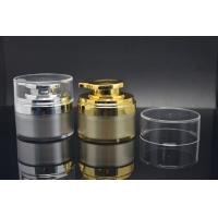 China PMMA cream packaging Acrylic Cosmetic Containers 0.5oz / 1oz / 1.7oz on sale