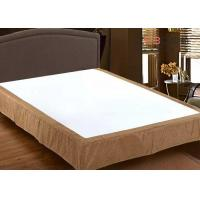 Quality Professional Hotel Collection Bed Skirt , Detachable Bed Skirts King Size for sale