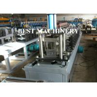 Buy Automatic Light Guage C Track Stud And Track Roll Forming Machine Frame Ceiling at wholesale prices