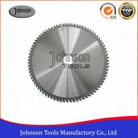 China 250mm Aluminum Cutting TCT Saw Blade / Circular Saw Blade Clear Color for sale