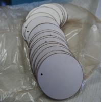 Buy cheap High Efficiency Pzt Piezo Ceramic Plate For Humidification Beauty Instrument from wholesalers