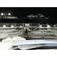 Buy 24M * 12M Iron Rotating Truss Stage Platform Hot Galvanized Bleacher Chairs With Backs at wholesale prices