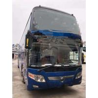 Quality 2014 Year Used Yutong Buses 61 Seats One Layer And Half With Bright Color for sale