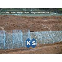 Quality Stainless Steel Galvanized Hexagonal Wire Mesh Gabion Boxes , 0.5mm Thick PVC Coated for sale