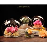 Buy BA (9) home docor clear acrylic spheres cover at wholesale prices