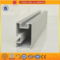 Quality 6m Length Aluminium Industrial Profile For Sliding Window With Built - In Blinds for sale