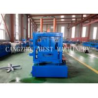 Quality Automatic Change Size CU 800-300 Steel Frame Purlin Roll Forming Machine 18.5kw power for sale