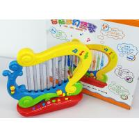 Quality CE Multifunctional Swan Harp Kids Music Toys with Kid Protective Plastic Case for sale