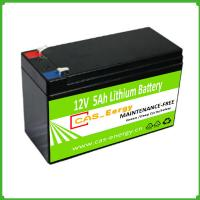 Quality Rechargeable Deep Cycle Lithium Storage Battery Solar Use 12V 5Ah for Solar Power System for sale