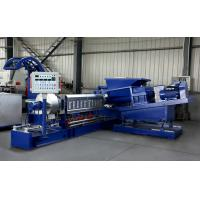 Quality CE ISO Certificated Single Screw Extruder Machine For Making PP PE PET PPR Granules for sale