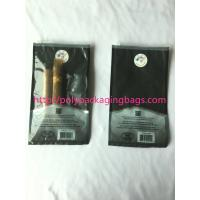 1 – 8 Colors Printing Cigar Packaging Bag With Slid Zip Lock / Humidifier System